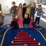 kindergarten red rod
